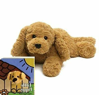 muttsy dog stuffed animal plush beige 14