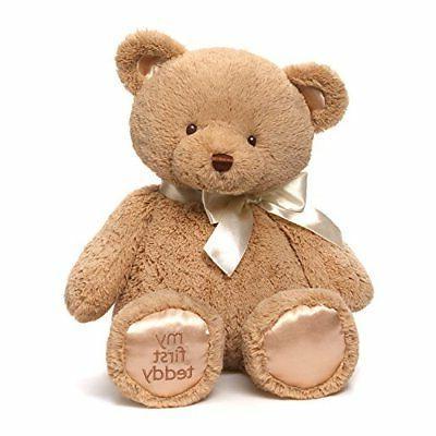 my first teddy bear baby stuffed animal