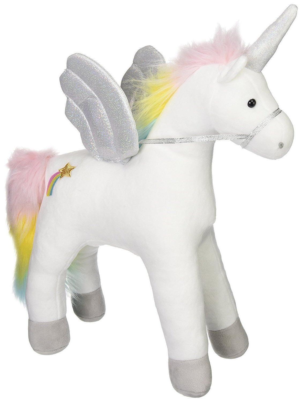my magical sound and lights unicorn stuffed