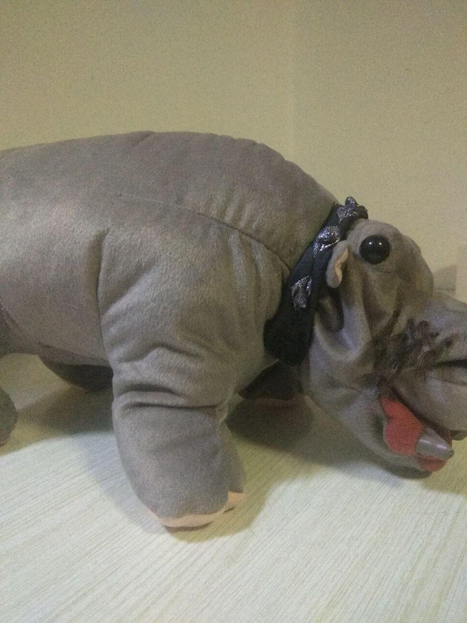 NCIS Bert the Hippo Plush RARE In