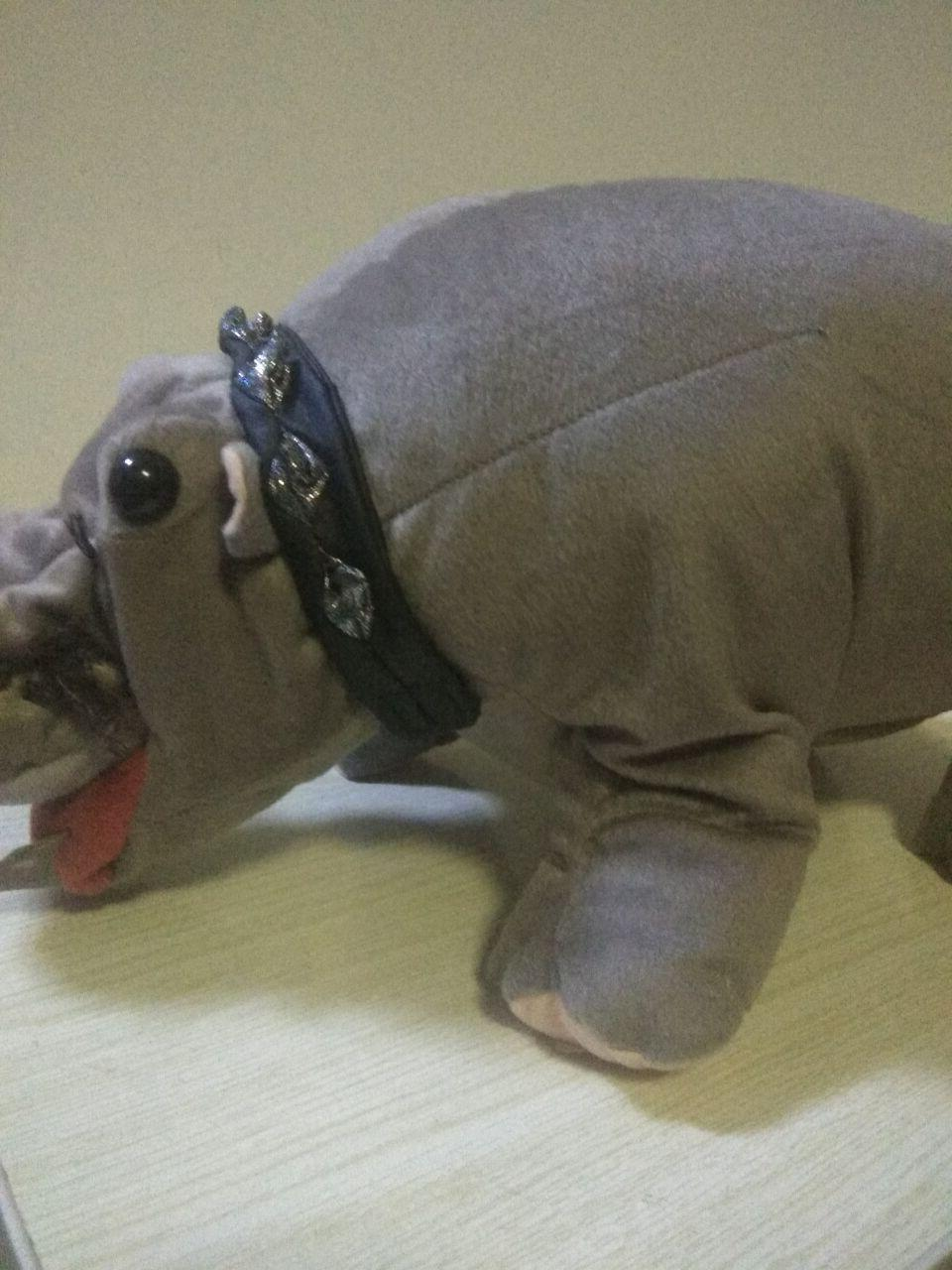NCIS Hippo Plush Toy Stuffed RARE Gift In