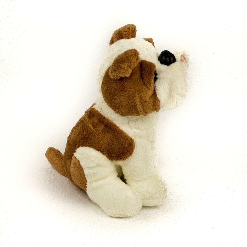 "New 7"" Bulldog Stuffed Animal Toy"