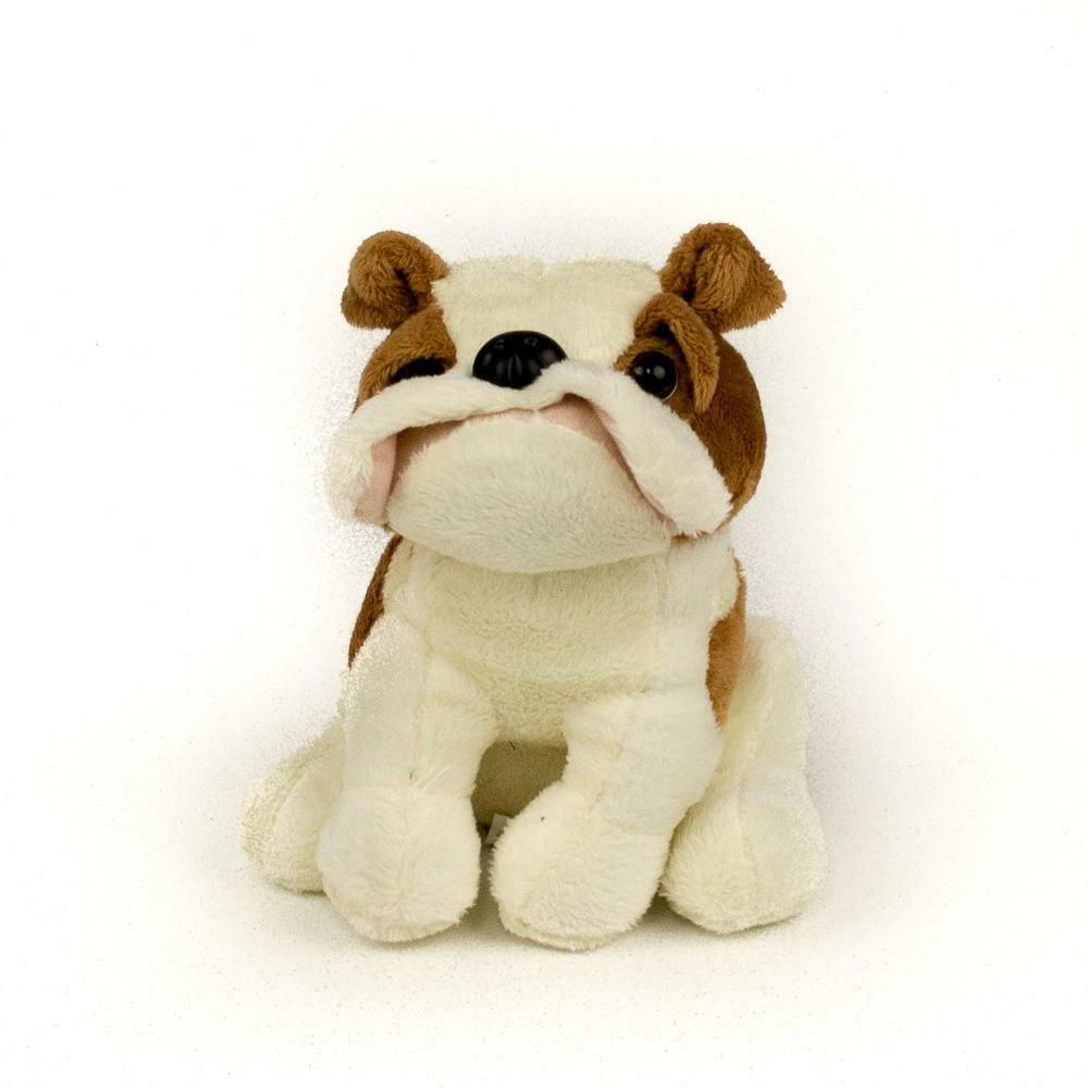 new 7 bulldog plush stuffed animal toy