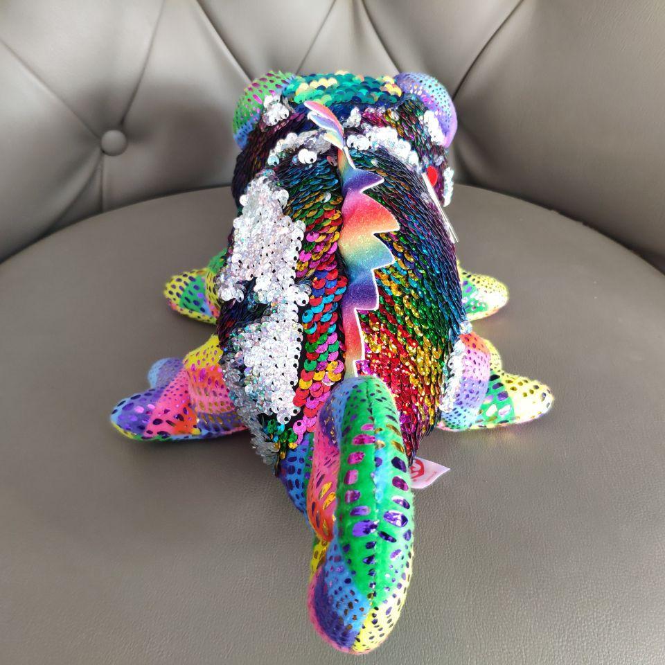 New chameleon lizard <font><b>Cat</b></font> <font><b>ty</b></font> eyes Plush Stuffed Animal Soft for Gifts
