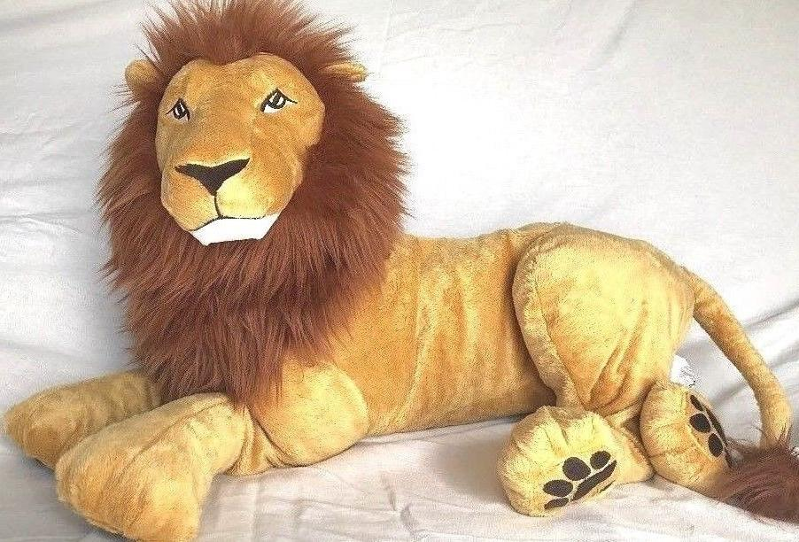 ❤️ New  IKEA*Djungelskog LION Extra Large Soft Cuddly St