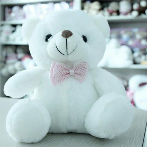 New LED Bear Animals Soft Toy Baby Kids