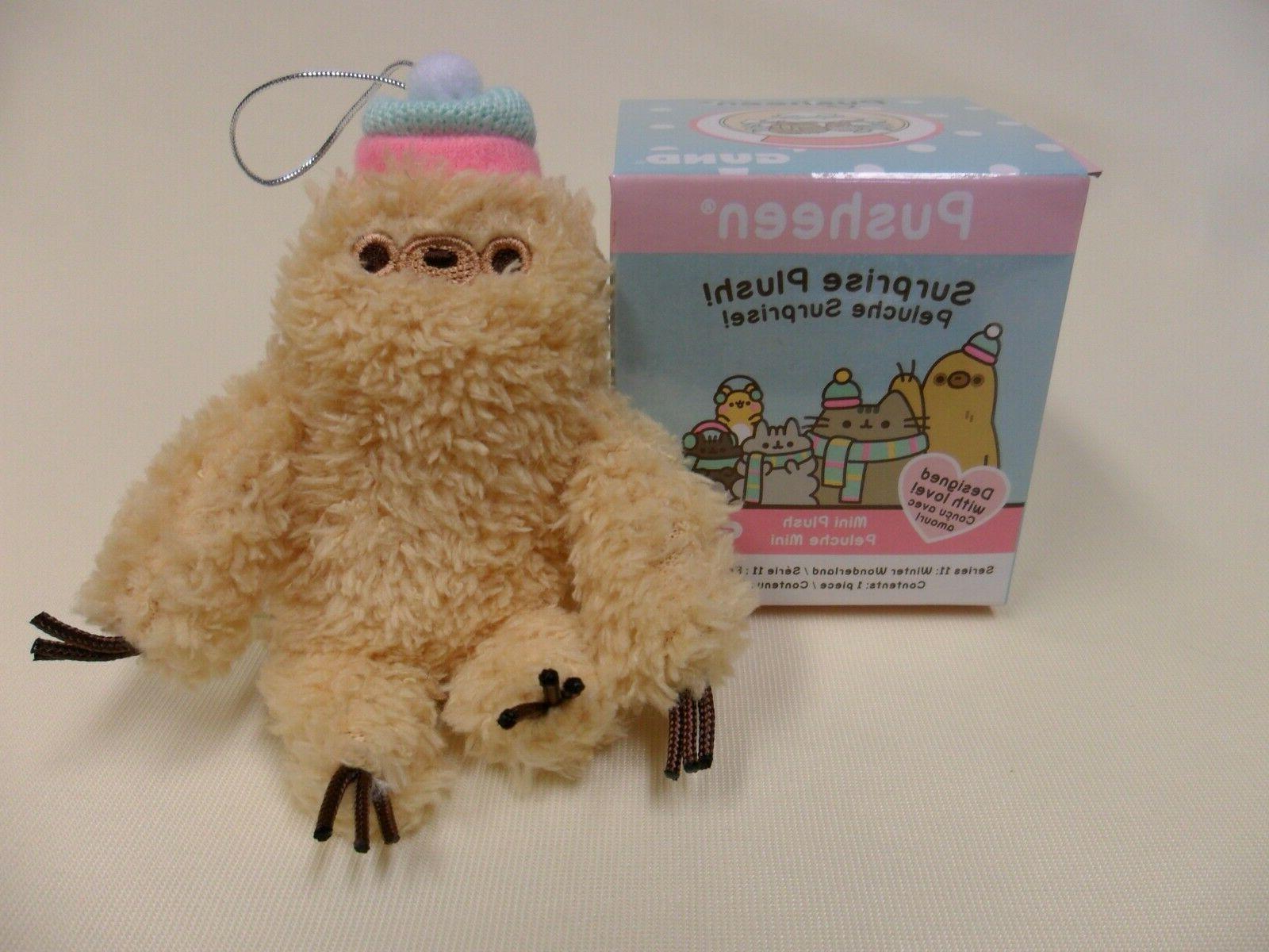 new pusheen blind box sloth hat winter