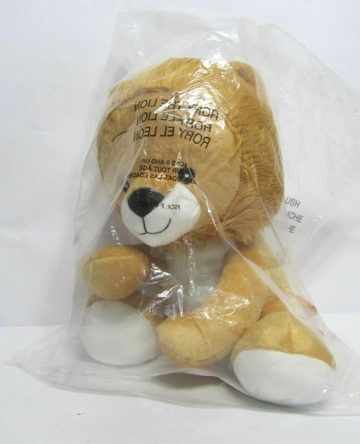 new sealed bag rory the lion stuffed