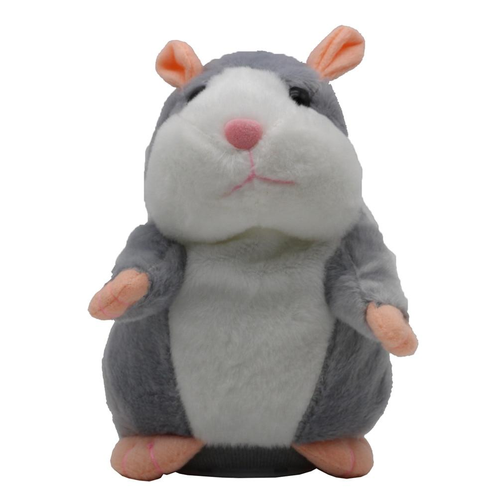 New Talking Mouse Cute Speak Record Hamster Educational for <font><b>Children</b></font> Gifts