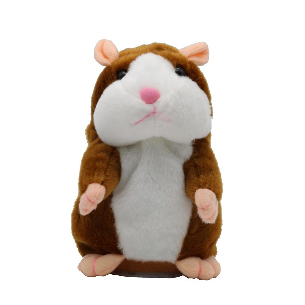 New Hamster Pet Plush Toy Hot Cute Record Hamster Educational for Gifts cm