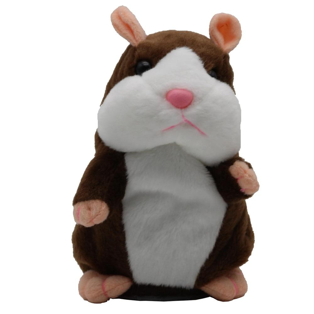 New Mouse Pet Cute Speak Talking Sound Record Educational Toy for <font><b>Children</b></font> cm