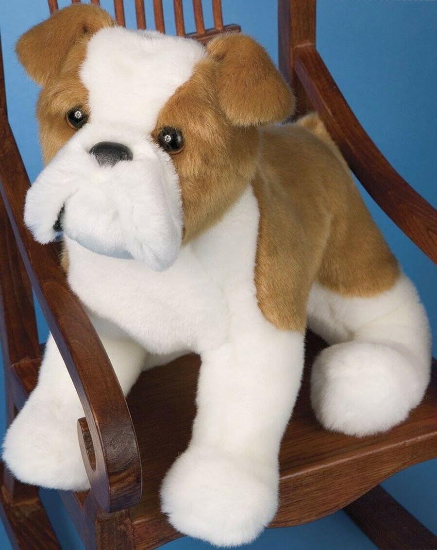norman bulldog 10 plush toy puppy dog