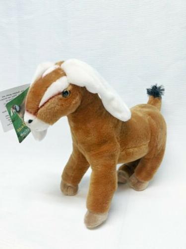 nubian goat plush stuffed animal