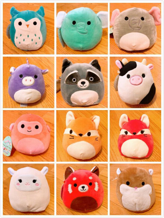 nwt 5 squishmallow plush doll pet stuffed