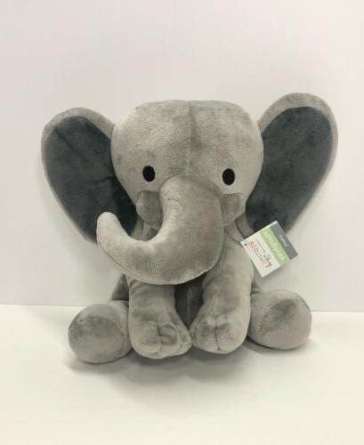 nwt choo choo gray plush elephant stuffed