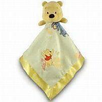 NWT Kids Preferred Disney Winnie The Pooh Plush Yellow Satin