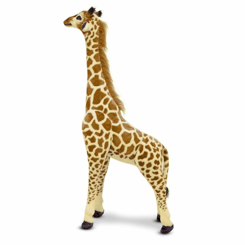 NWT & Doug Giant Giraffe Lifelike Stuffed Animal, Over Tall