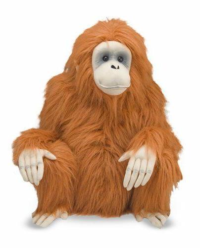 NWT & Giant Orangutan Stuffed Animal 2 feet tall
