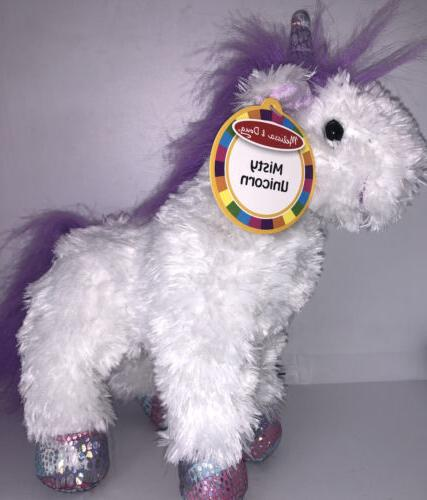 nwt melissa and doug misty white unicorn
