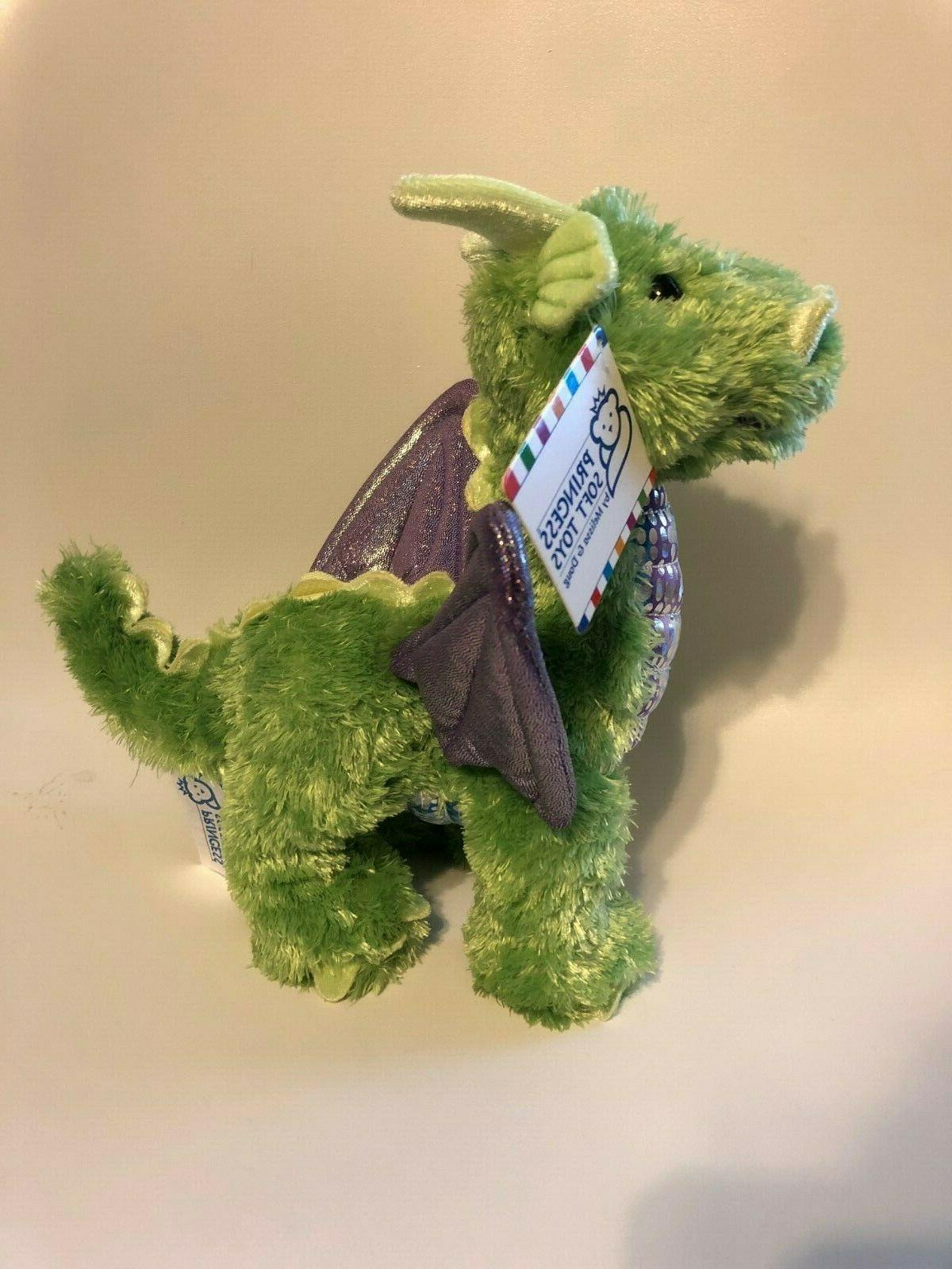 nwt melissa and doug zephyr dragon stuffed