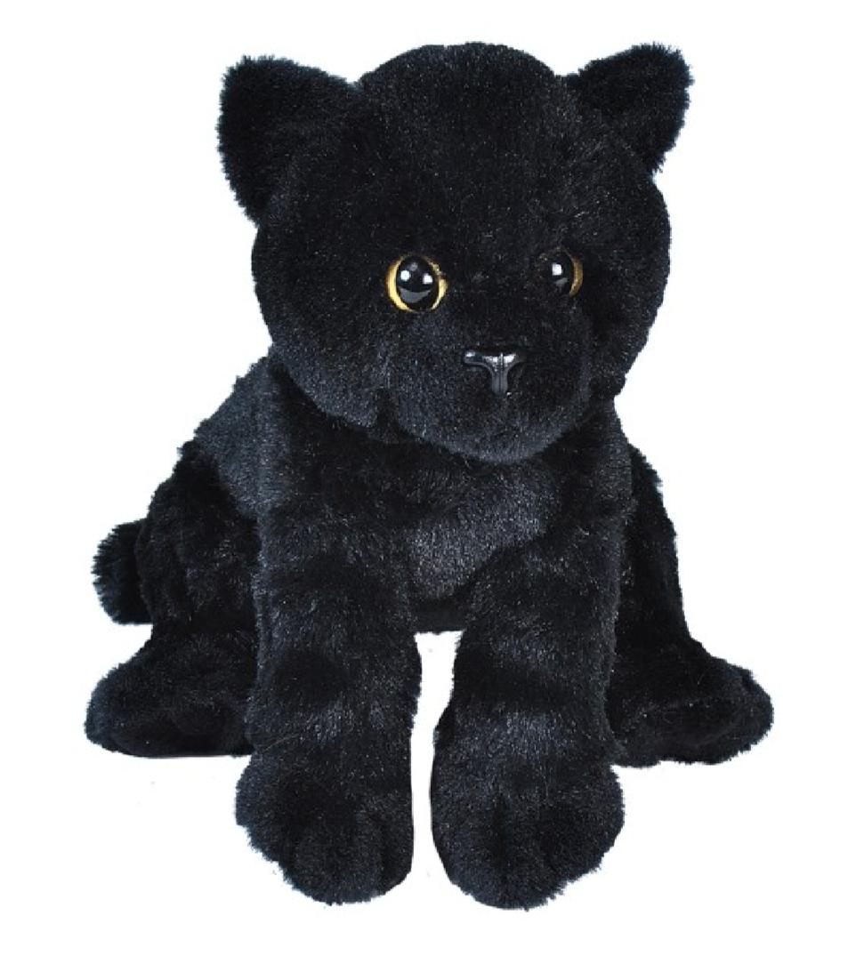 nwt stuffed animal plush soft cute black