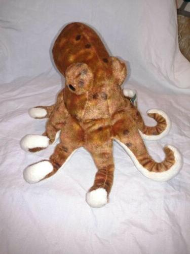 """Wild Octopus 8"""" Animal Plush Toy Gifts for"""