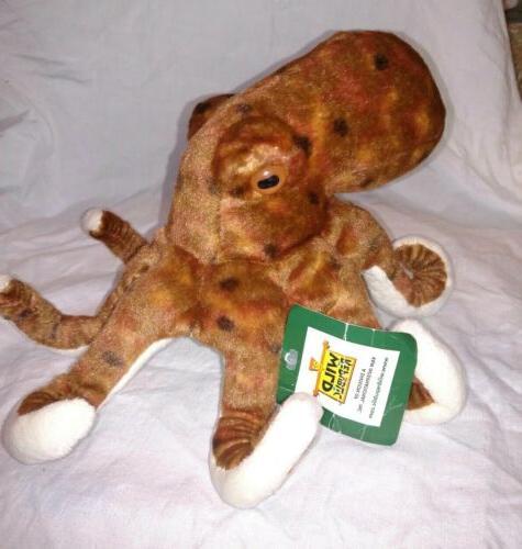 "Wild Republic Octopus 8"" Stuffed Toy Kids"
