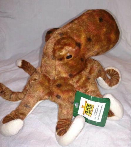octopus plush 8 stuffed animal plush toy