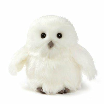 ophelia snowy owl stuffed animal