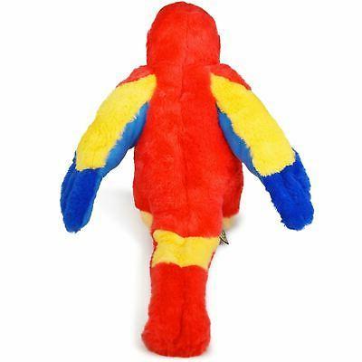 VIAHART Papaya the Scarlet Macaw | Inch
