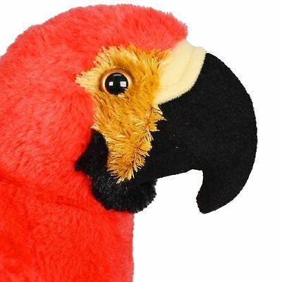 VIAHART Scarlet Macaw 12 Stuffed