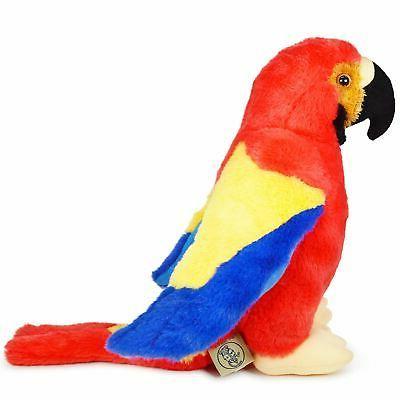 VIAHART Papaya the Macaw Stuffed Animal Parrot