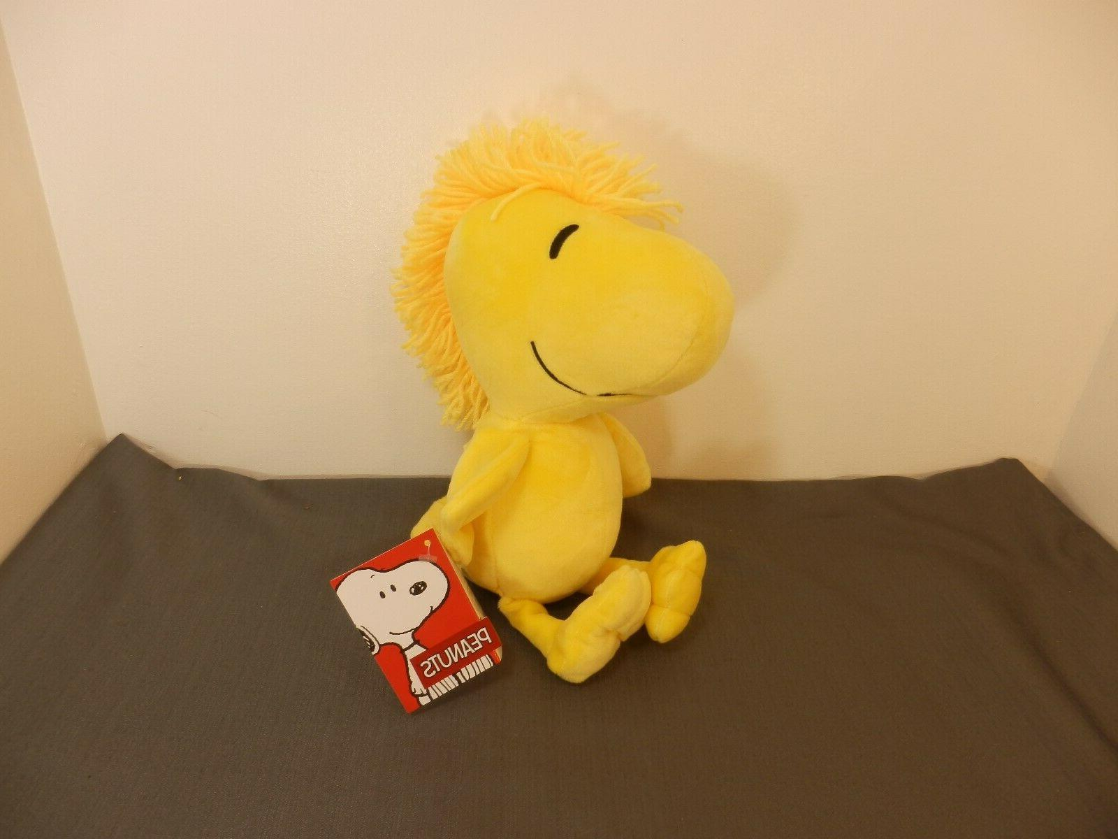"Peanuts Character Woodstock Stuffed Animal 12""T NWT  REF#S10"