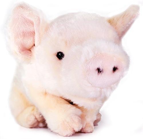 Perla the Pig 11 Animal Plush By Tiger