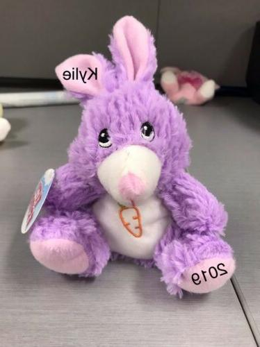 personalized stuffed plush animals for easter
