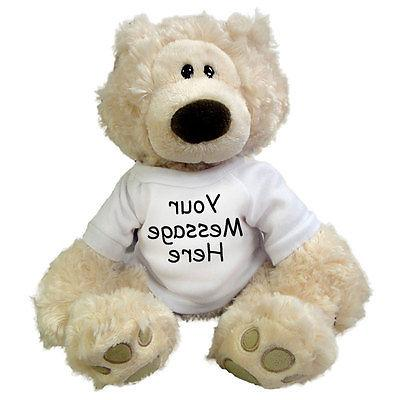 personalized teddy bear 12 inch philbin bear