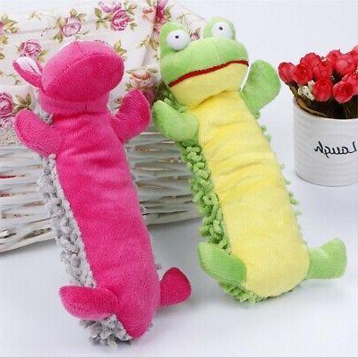 Pet Dog Toys Squeaking Stuffed Plush Toys Cute Animals Shape