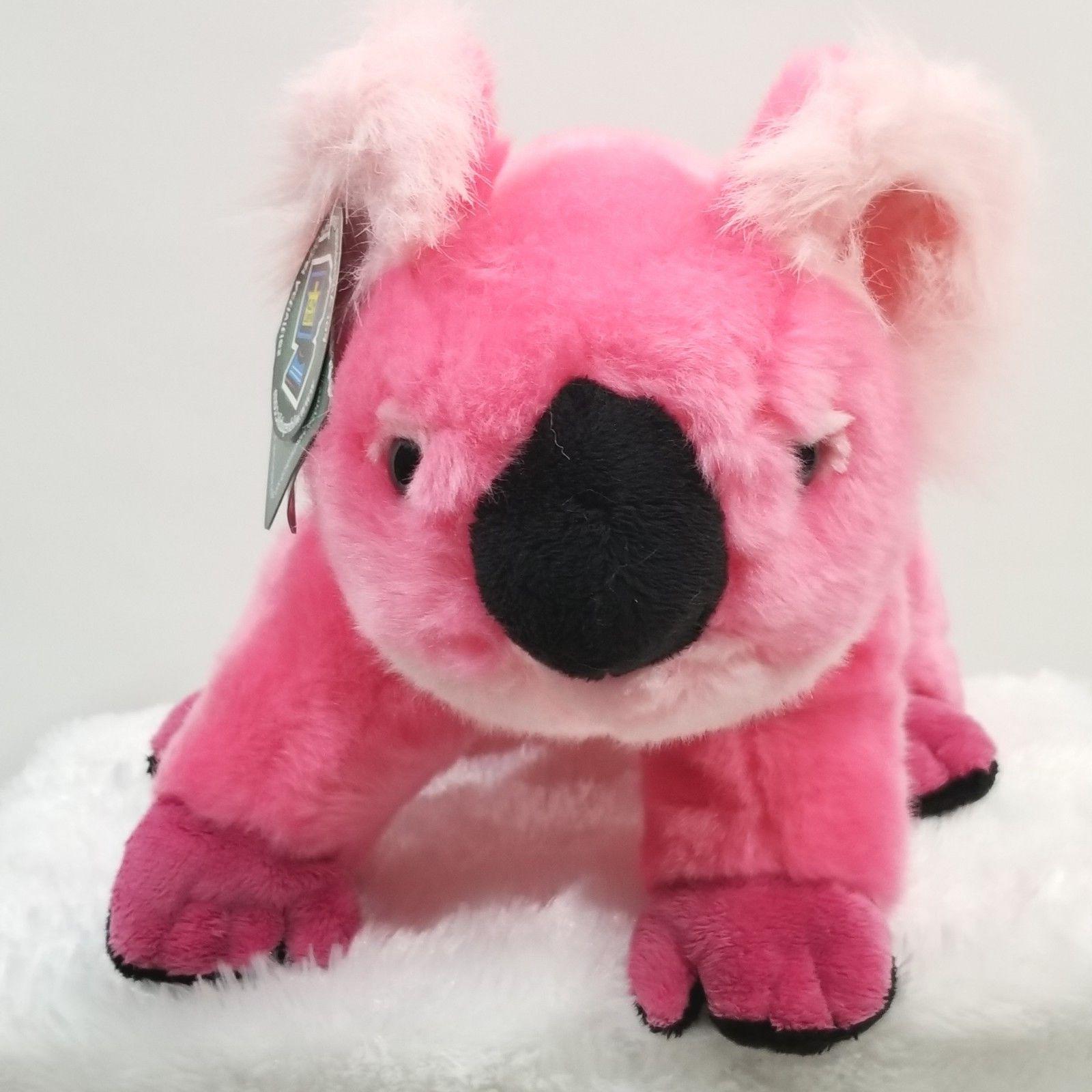"Koala Bear Pink Wild Republic Plush approx 9-1/2"" Tall Sitti"