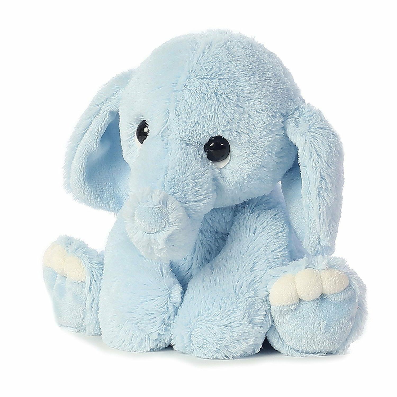 pink plush elephant stuffed animal