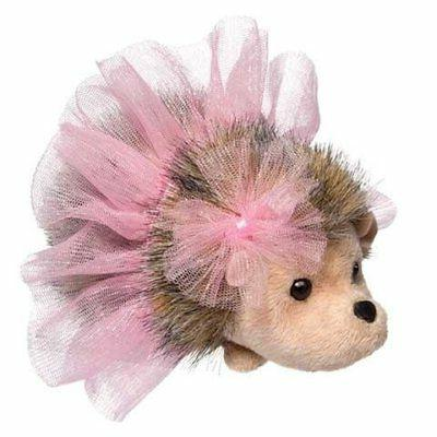 pink swirl tutu hedgehog