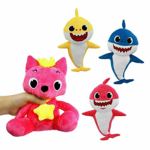 Pink Fong Animal Cartoon Stuffed Plush Doll Soft Toys Fox Sh