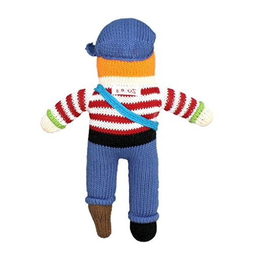 Zubels Arr-nee the Doll Toy, 12-Inch, Natural Fibers,