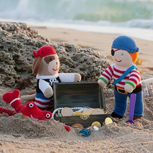 Zubels 100% the Pirate Toy, Fibers,