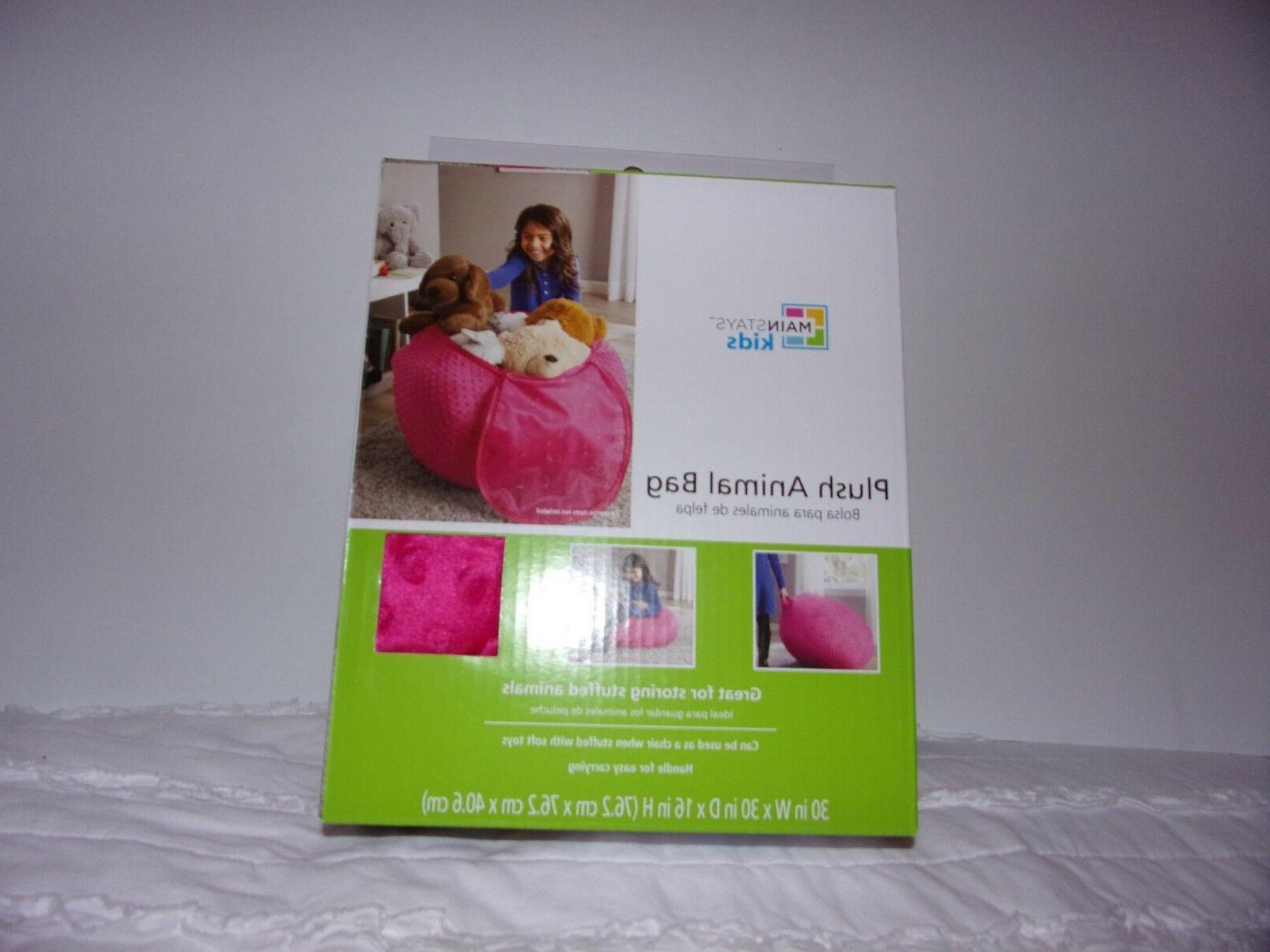 plush animal bag store your stuffed animals