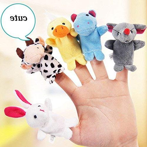 22 pcs Finger Toys Mini Plush Assortment For Hands Game For Autistic Children, Family Set