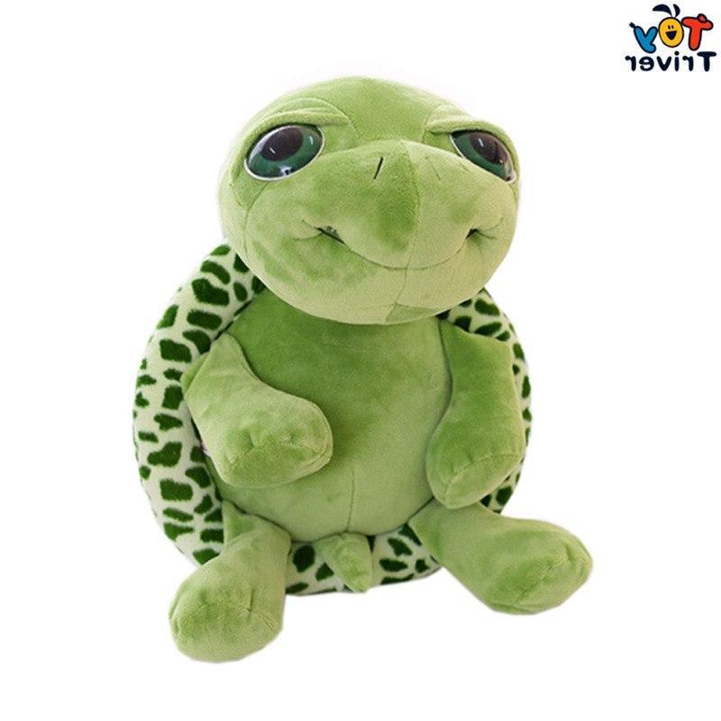 Plush <font><b>Eye</b></font> Tortoise Turtle Toys <font><b>Stuffed</b></font> <font><b>Animal</b></font> Gift For Baby Home Decoration Ornament Triver