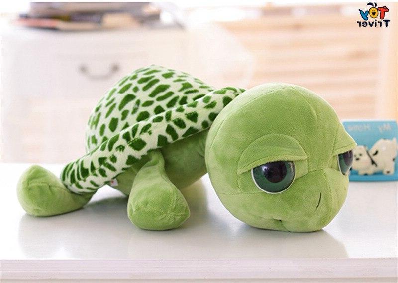 Plush Big Tortoise <font><b>Stuffed</b></font> For Home Ornament Triver