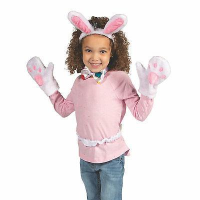 plush bunny accessories set apparel accessories 5