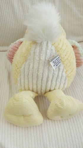 Chenille Animals Duck Stuffed Toy Yellow