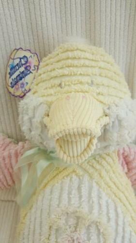 Chenille Animals Plush Duck Stuffed